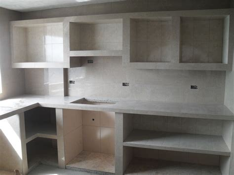 resultado de imagen  mesada de cemento  cocina