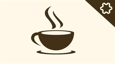 Millions of icons, stylish fonts, and handy editing options can also help you burn your cafe logo ideas to the. Logo Design illustrator Tutorial - Simple Coffee Cafe Shop Logo Design - Adobe illustrator cc ...
