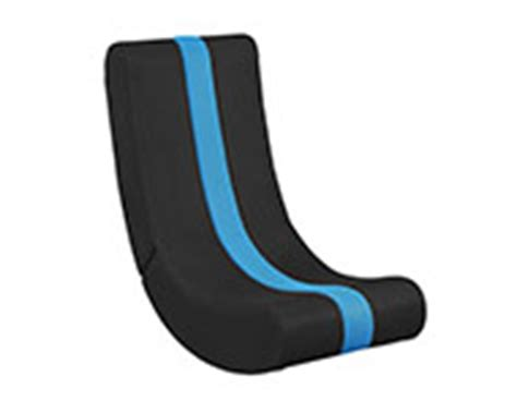gaming ottoman chair gamestop levelup blue rocker gaming chair for nintendo wii gamestop
