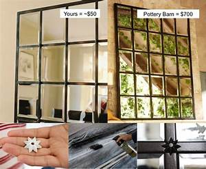 Beautiful DIY Pottery Barn Mirror - Save Over $600 When