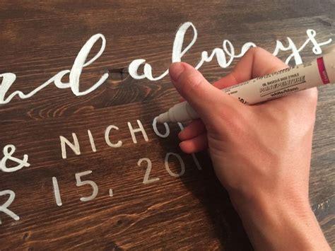 Best 25 Wood Wedding Signs Ideas On Pinterest Rustic