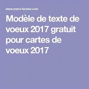 Modele Carte De Voeux : mod le de texte de voeux 2017 gratuit pour cartes de voeux ~ Melissatoandfro.com Idées de Décoration