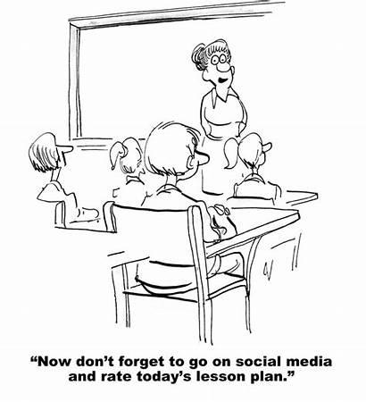 Plan Teaching Lesson Cartoon Modern Today Teacher