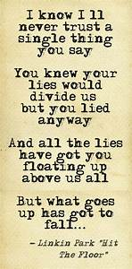 Linkin park quothit the floorquot song lyrics pinterest for Linkin park hit the floor lyrics