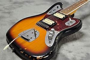 Fender Mexico Kurt Cobain Jaguar Relic Sunburst