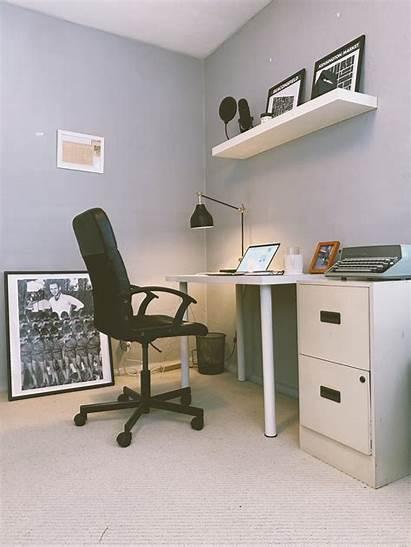 Minimalist Office Workspace Medium Simple Does Chan