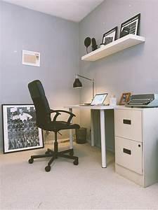 My, Minimalist, Office, A, Snapshot, Of, My, Workspace