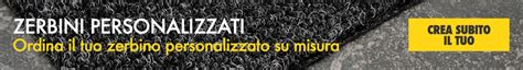 Zerbini Personalizzati Prezzi by Prezzi Tappeti Zerbini E Passatoie Sconti E Offerte