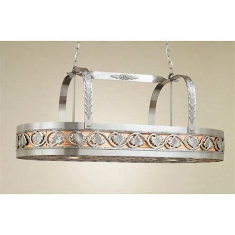 Copper Pot Rack With Lights by Lighted Copper Pot Rack Bellacor