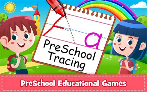 abc preschool games abc preschool tracing amp phonics learning for 437