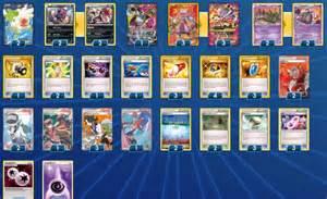 deck list mega mewtwo ex y pokemon tcgo hub