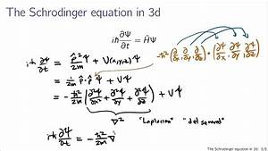 Schrodinger equation in 3d - YouTube