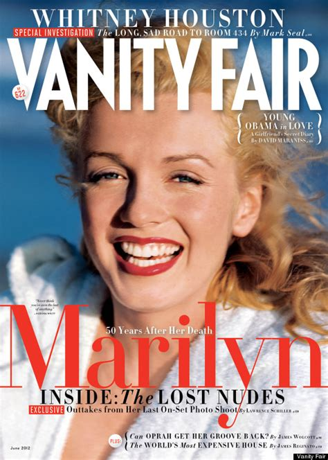 vanity fair covers marilyn lost photos from last on set