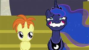 Image - Princess Luna straining a forced wide smile S7E10 ...