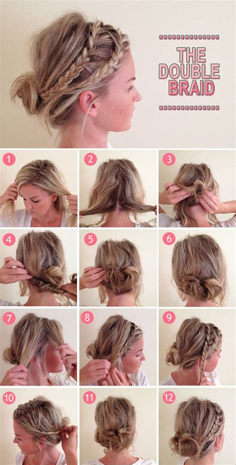 13 Interesting Tutorials for Everyday Hairstyles   Pretty