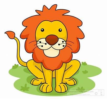 Lion Clipart Jungle Cartoon Cliparts