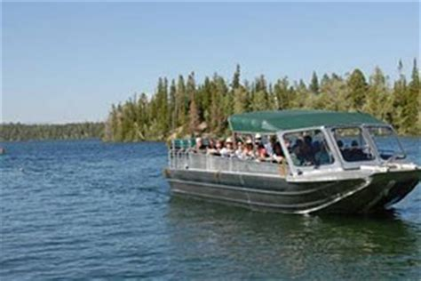 Grand Lake Boat Rental Prices by Grand Teton National Park Boating Boat Rentals Marinas