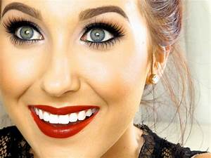 Classic Red Lip Makeup Tutorial | Jaclyn Hill - YouTube