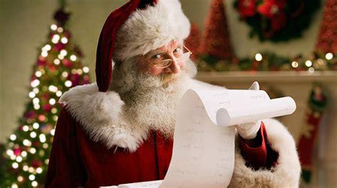 santa isnt    checking  list weston