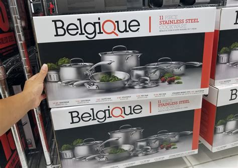 belgique  piece cookware set   macys reg   krazy coupon lady
