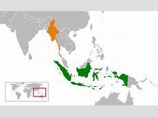 Hubungan Indonesia dengan Myanmar Wikipedia bahasa