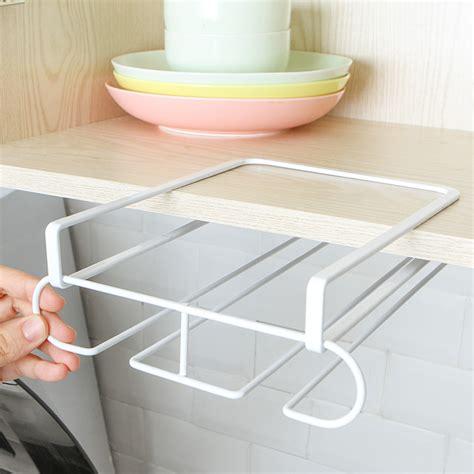 kitchen  shelf cabinet cup paper wine glass hanger storage rack holder ebay