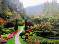 Butchart Gardens Victoria Island BC Canada