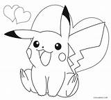 Pikachu Coloring Pages Printable Cool2bkids sketch template