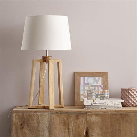 chaise bureau grise pied de le sachi bois naturel 47 cm inspire leroy