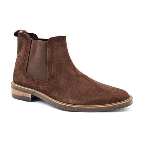 Buy Brown Suede Chelsea Boots Mens   Gucinari Style