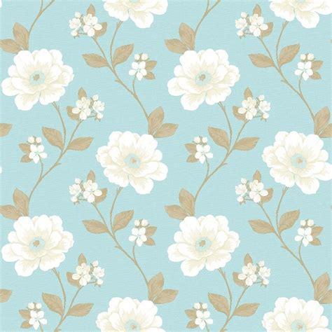 cream  blue wallpaper wallpapersafari