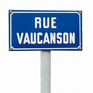 Plaque De Rue Personnalisée Extérieur : fabricant de panneau de rue en mail fixer sur poteau doublet ~ Dode.kayakingforconservation.com Idées de Décoration