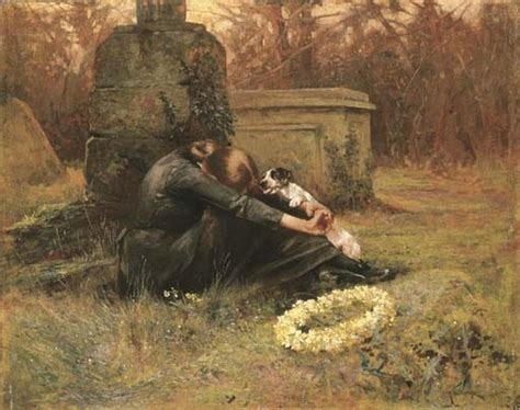 british paintings arthur wardle  comforting friend