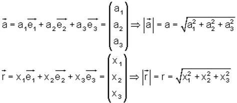 betrag und richtungskosinus von vektoren mathe brinkmann