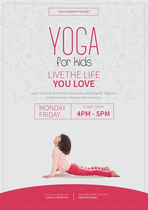 yoga flyer designs examples psd ai word eps