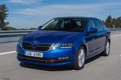 The New Skoda Octavia  Facelift  Škoda Owners' Club