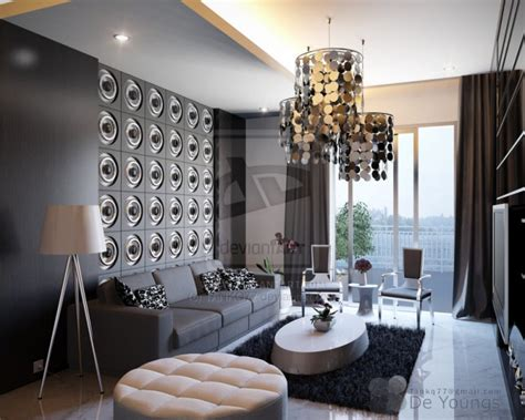 Modernes Wohnzimmer Grau by 69 Fabulous Gray Living Room Designs To Inspire You