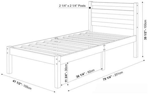 Bedroom Measurements by Measurements Of Bed Frame Project Mattress