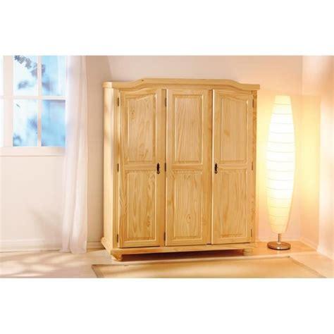 porte de chambre en bois pas cher armoire design rustique 3 portes en bois massif achat