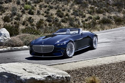 maybach mercedes mercedes maybach 6 cabriolet concept unveiled with an