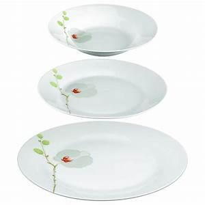 Service De Table 18 Pièces : service de table 18 pi ces orchid e blanc ~ Teatrodelosmanantiales.com Idées de Décoration