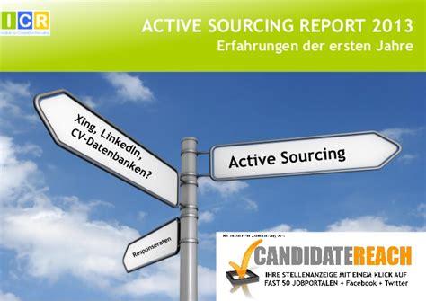 active sourcing xing anschreiben