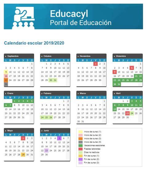 calendario escolar en castilla leon