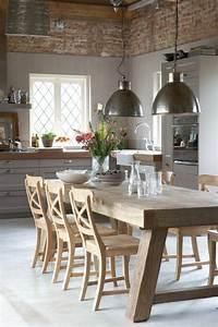 Offene Küche Esszimmer Wohnzimmer : rustikale k chen und die passenden dekoartikel dazu wohnzimmer k chen rustikal esszimmer ~ Orissabook.com Haus und Dekorationen