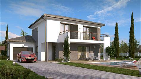 plan villa moderne 200m2 demeures caladoises collection sicile maison moderne 224 233 tage