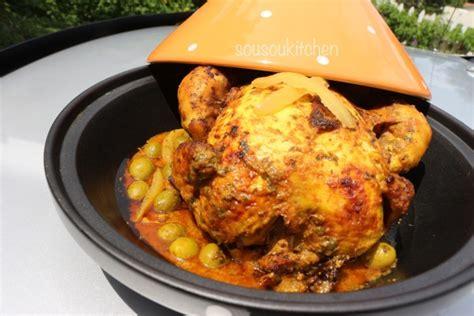 cuisine marocaine poulet poulet à la marocaine en vidéo cuisine marocaine