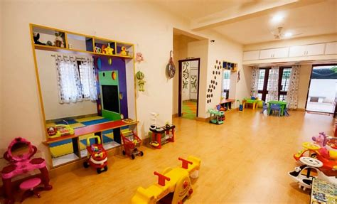 A Home With A Play Area For by Wacky House Dollars Colony Bangalore