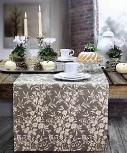 Tischläufer Von Sander : herbstlch dekorierter tisch tischl ufer country side von sander im outlet jetzt reduziert ~ Markanthonyermac.com Haus und Dekorationen