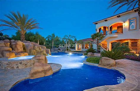 $3.75 Million Mediterranean Style Mansion In Las Vegas, NV