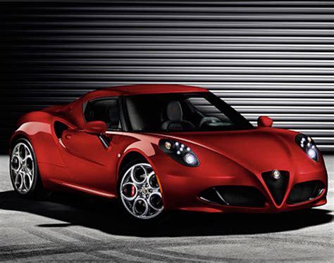 2014 Alfa Romeo 4c  Heir To A Great Italian Racing